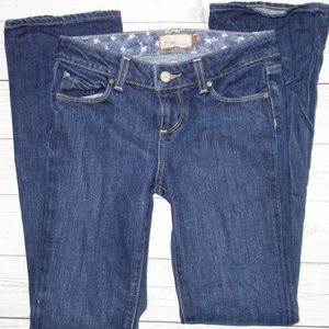 Paige Jeans Girl 12 Benedict Canyon Straight Leg